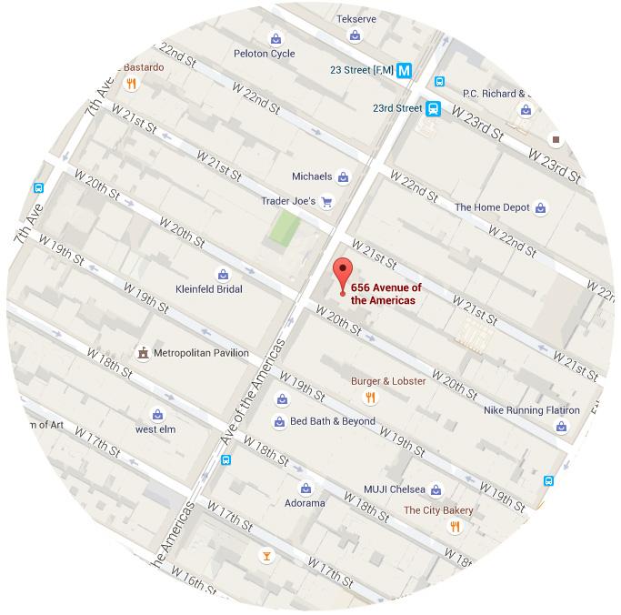 250 WEST 26TH STREET NEW YORK, NY 10011